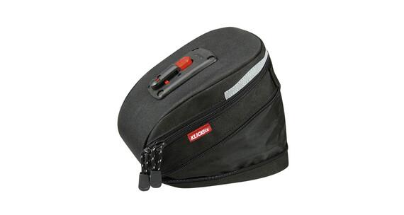 Bolsa sillin KlickFix Micro 200 ampliable Negro